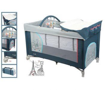 Lit parapluie carré pour jumeaux / lit aubert parapluie