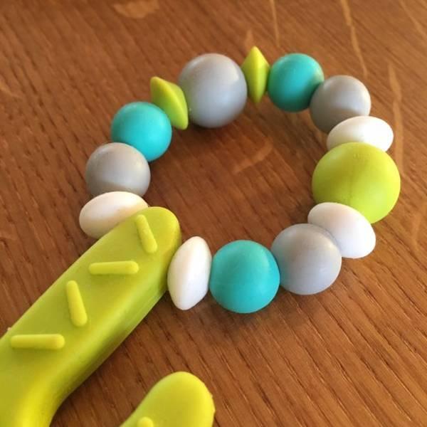 anneau de dentition en silicone