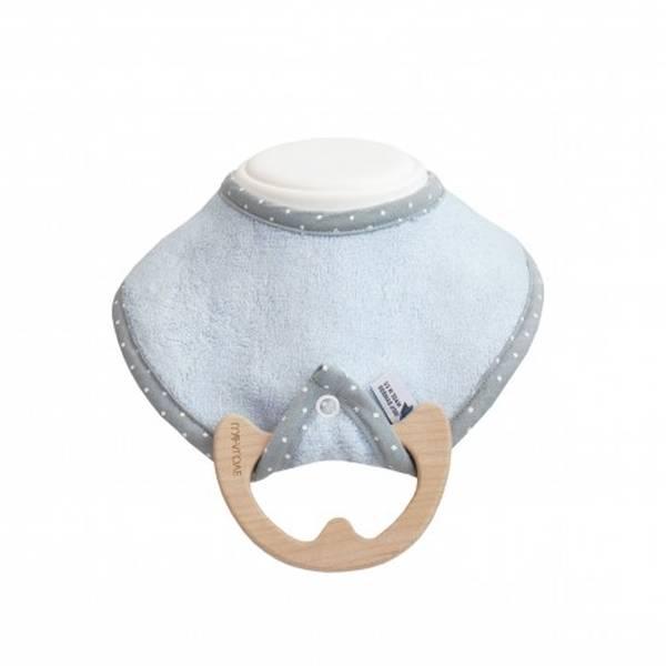 bavoir anneau de dentition