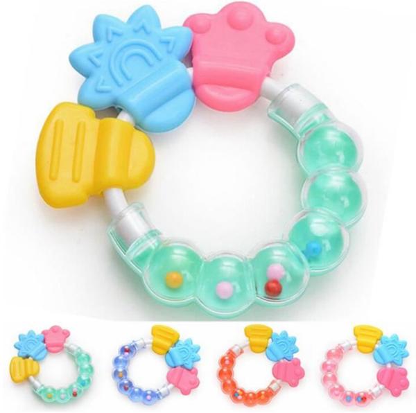 infantino eveil anneau de dentition multi matière